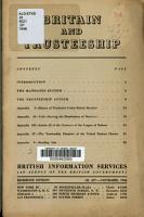 Britain and Trusteeship PDF
