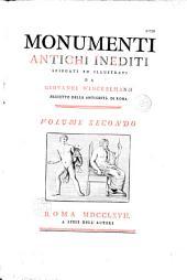 Monumenti antichi inediti spiegati ed illustrati da Giovanni Winckelmann
