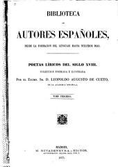 Poetas líricos del siglo XVIII.