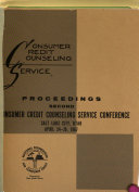 Proceedings of the     National Consumer Credit Counseling Service Conference PDF
