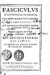 Fasciculus e Iapponicis floribus suo adhuc madentibus sanguine