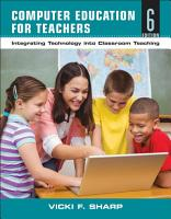 Computer Education for Teachers PDF