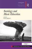 Sociology and Music Education PDF