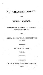Northanger Abbey: And Persuasion, Volume 2