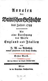 Annalen der brittischen Geschichte der Jahre 1788(-1796)