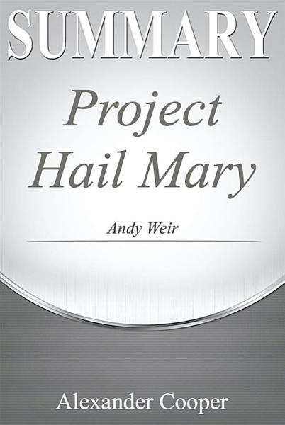 Download Summary of Project Hail Mary Book