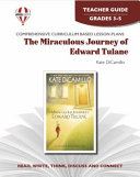 The Miraculous Journey of Edward Tulane Novel Units Teacher Guide