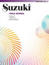 Suzuki Viola School - Volume 5 (Revised): Viola Part