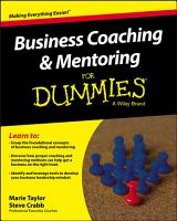 Business Coaching and Mentoring For Dummies PDF