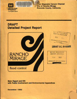 West Magnesia Canyon Channel  Rancho Mirage  California PDF