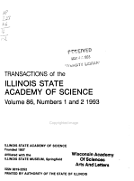 Transactions of the Illinois State Academy of Science PDF