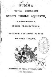 Summa Totius Theologiae Sancti Thomae Aquinatis...