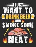 BBQ Smoker Recipe Journal Book