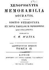 Xenophontis Memorabilia Socratis: Band 2