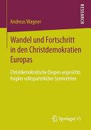 Wandel und Fortschritt in den Christdemokratien Europas PDF