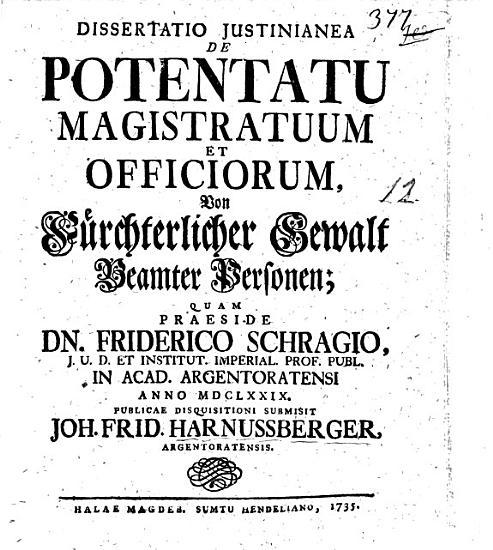 De potentatu magistratuum et officiorum PDF