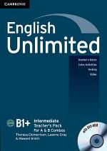 English Unlimited Intermediate A and B Teacher's Pack (Teacher's Book with DVD-ROM)