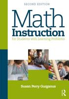 Math Instruction for Students with Learning Problems PDF