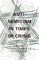 Anti Semitism in Times of Crisis PDF