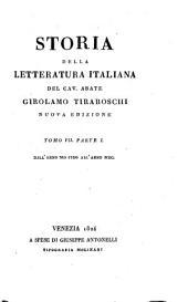 Storia della letteratura italiana: Volume 17