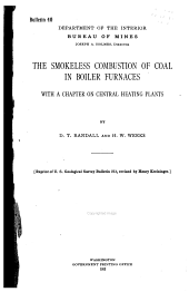 The Smokeless Combustion of Coal in Boiler Furnaces: With a Chapter on Central Heating Plants, Issues 40-46