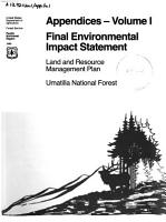 Final environmental impact statement  land and resource management plan PDF