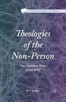 Theologies of the Non Person PDF