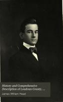 History and Comprehensive Description of Loudoun County  Virginia PDF