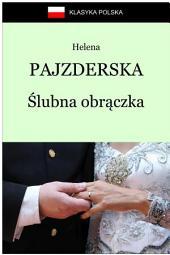 Ślubna obrączka