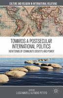 Towards a Postsecular International Politics PDF