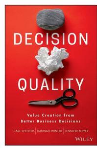 Decision Quality Book