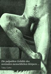Die palpablen Gebilde des normalen menschlichen Korpers und deren methodische Palpation: Bände 1-3