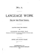 Language Work Below the High School: Fifth and sixth years