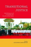 Transitional Justice PDF