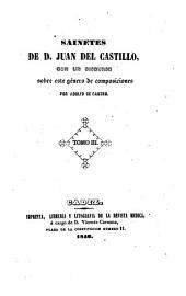 Sainetes con un discurso sobre este genero de composiciones por Adolfo de Castro: Volumen 3