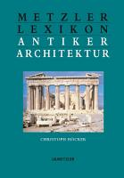 Metzler Lexikon antiker Architektur PDF