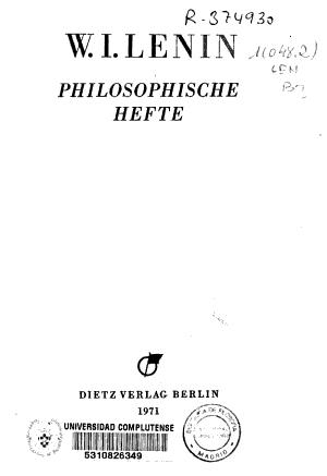 Philosophische Hefte PDF