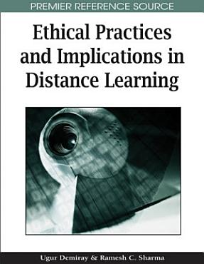 Ethical Practices and Implications in Distance Learning PDF