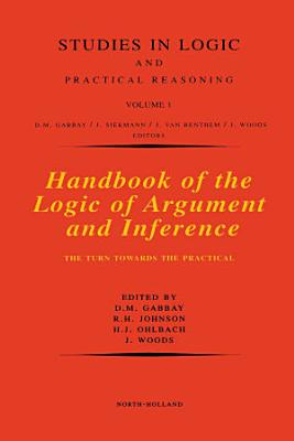 Handbook of the Logic of Argument and Inference PDF