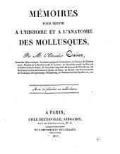 Mémoires pour Servir à l'histoire des mollusques: avec 35 pl