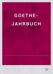 Goethe-Jahrbuch: Band 2