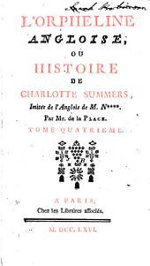 L'orpheline angloise, ou histoire de Charlotte Summers,: imitée de l'anglois de M. N****.