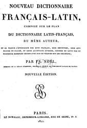 Nouveau dictionnaire français-latin