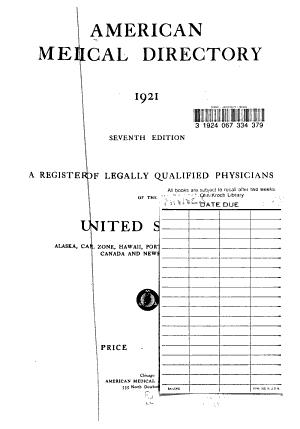 American Medical Directory