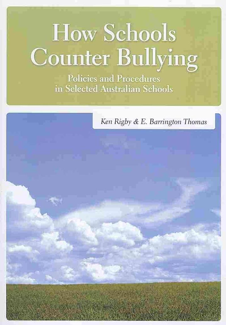 How Schools Counter Bullying