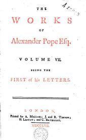The Works of Alexander Pope Esq: Volume 7