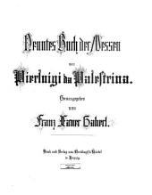 Neuntes Buch der Messen