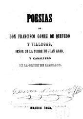 Poesías de Francisco Gómez de Quevedo y Villegas
