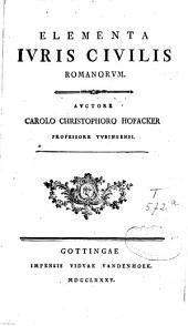 Elementa iuris civilis romanorum