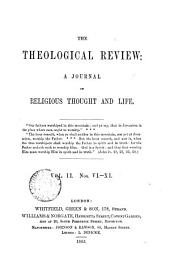 The Theological review [ed. by C. Beard].: Volume 2